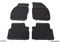 Nissan Primera five door (2002 to 2007) :Rezaw-Plast floor mats (set of 4), black, no. RZ241812