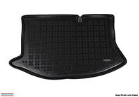 Ford Fiesta five door (2008 onwards) :Rezaw-Plast boot liner, black, no. RZ230430