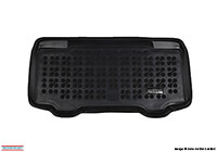 Mini Cooper three door (2014 onwards) :Rezaw-Plast boot liner, black, no. RZ232127
