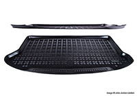 Citroen Nemo Multispace (2009 onwards) :Rezaw-Plast boot liner, black, no. RZ230127