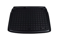 Volkswagen VW Golf five door (2004 to 2008) :Rezaw-Plast boot liner, black, no. RZ231820