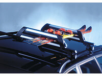:Atera NOVA 4 uplifted ski carrier with roof bars