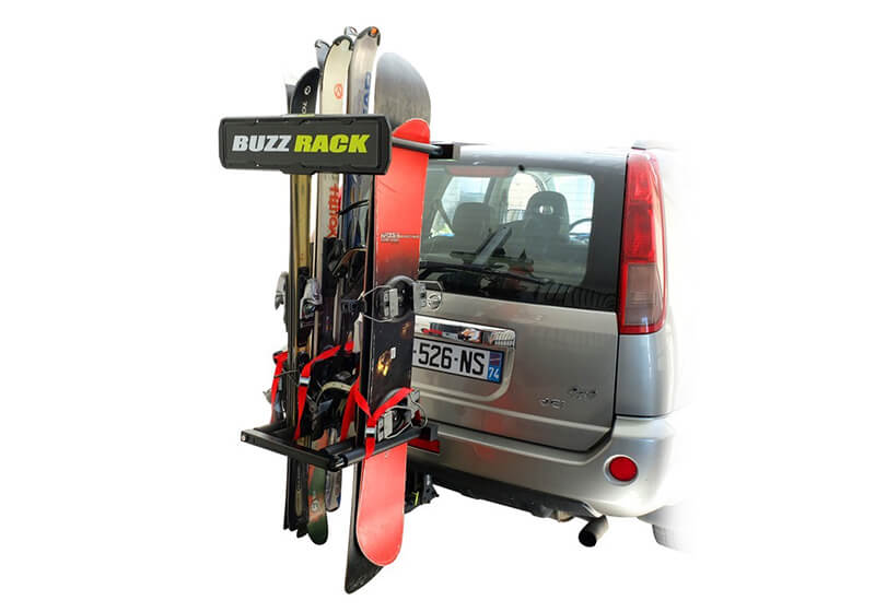 :BUZZ RACK tow ball ski and board carrier