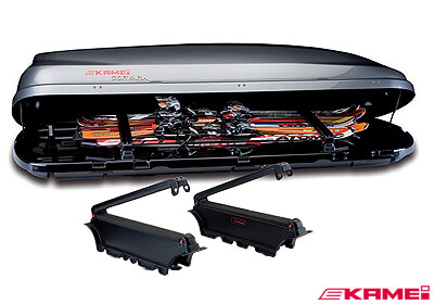 Kamei Roof Box Ski Carrier 4 Prs For Corvara 310 No