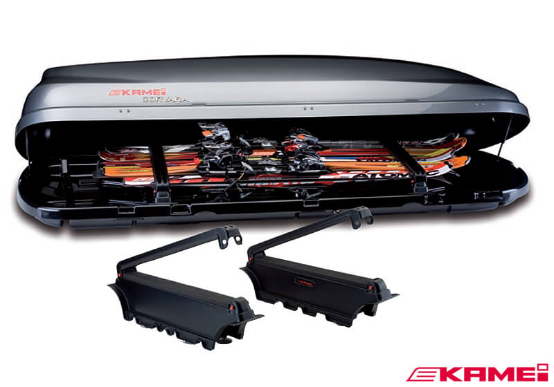 :KAMEI roof box ski carrier (3 prs) for Delphin 260 no. KM81206