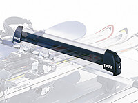:Thule Deluxe ski carrier (height adjustable) no. TU740 - 3 pairs skis or 2 snowboards