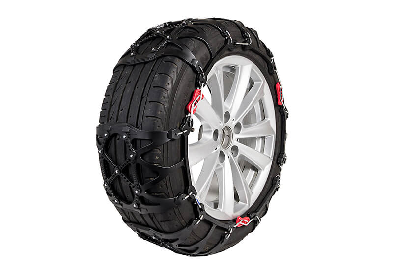 Peugeot 206 five door (1998 to 2010):INNO Quick & Easy polyurethane snow chains (pair) no. QE4L