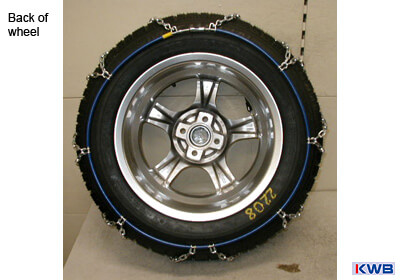 KWB 'Tempomatic Special' snow chains (pair) no. 1090