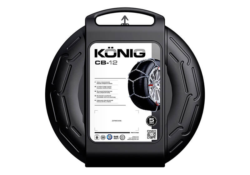 König CB-12 snow chains (pair) no. CB-12 102
