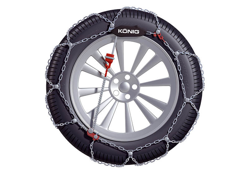 König CG-9 snow chains (pair) no. CG-9 090