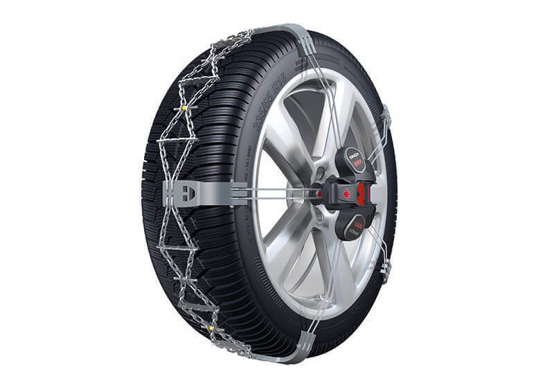 Hyundai Santa Fe (2000 to 2006):König K-Summit VAN snow chains (pair) no. K-Summit 89