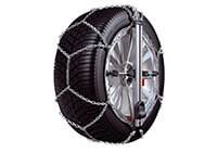 Honda Accord four door saloon (2008 to 2013):Konig CU-9 Easy-fit snow chains (pair) no. CU-9 100