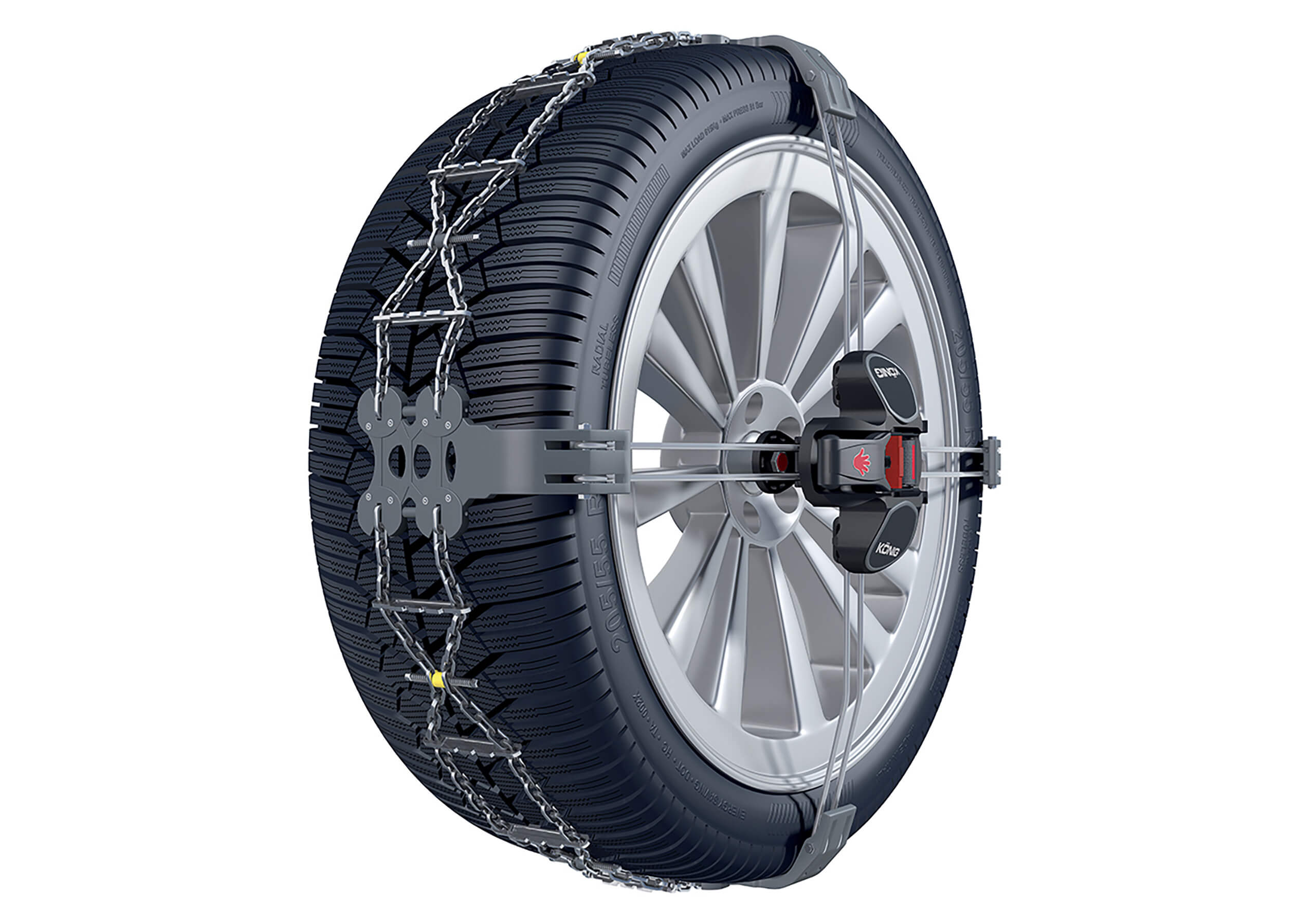 Ford Focus estate (2008 to 2011):König K-Summit snow chains (pair) no. K-Summit 23