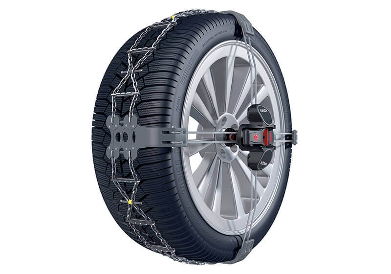 Volkswagen VW Crafter L4 (Long) H3 (Super high roof) (2017 onwards):König K-Summit XL snow chains (pair) no. K-Summit 55