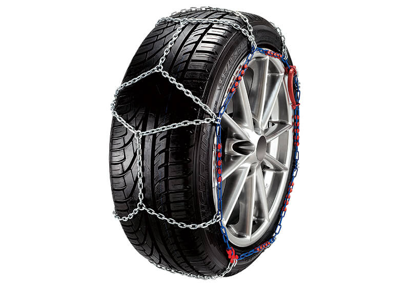 "Mazda 323 five door (1995 to 1998):Maggi ""The One"" chains (pair) no. MGONE40"