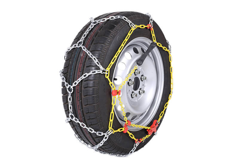 Hyundai Santa Fe (2000 to 2006):Polaire XP16 16mm 4x4 snow chains (pair) size 109