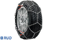 Volkswagen VW Polo three door (2009 onwards) :RUD-compact easy2go chains (pair) size 4025 no. 4716946