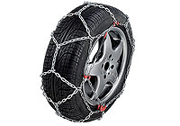 Ford Focus four door saloon (2008 to 2011) :Thule CB-12 snow chains (pair) no. CB-12 090