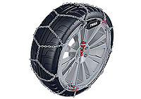 Dodge Neon four door saloon (2000 to 2006):Thule CG-9 snow chains (pair) no. CG-9 060
