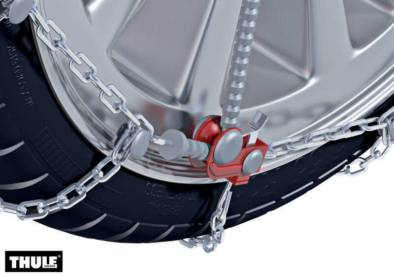 Thule CG-9 snow chains (pair) no. CG-9 040