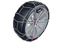 Ford Focus four door saloon (2008 to 2011) :Thule CL-10 snow chains (pair) no. CL-10 080