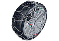 Ford Focus four door saloon (2008 to 2011) :Thule CS-10 snow chains (pair) no. CS-10 090
