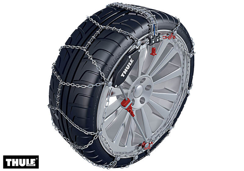 Peugeot 206 five door (1998 to 2010):Thule CS-10 snow chains (pair) no. CS-10 050