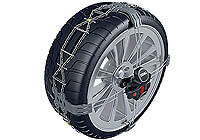 Ford Focus four door saloon (2008 to 2011) :Thule K-Summit snow chains (pair) no. K-Summit 23