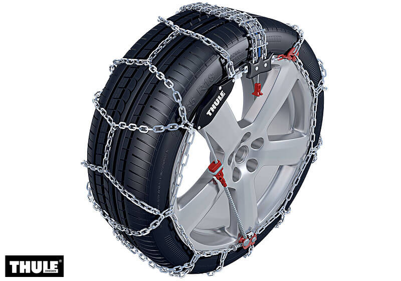Nissan Interstar L2 (MWB) H2 (medium roof) (2002 to 2010):Thule XS-16 snow chains (pair) no. XS-16 220