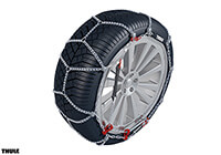 Honda Accord four door saloon (2008 to 2013):Thule CK-7 snow chains (pair) no. CK-7 095