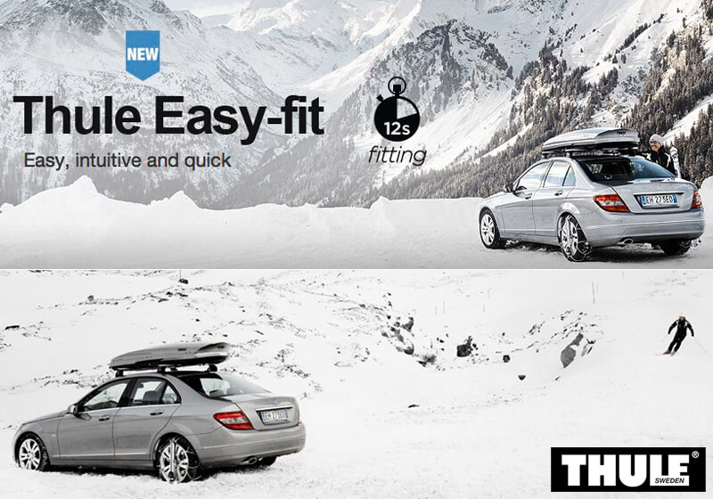 Thule CU-9 Easy-fit snow chains (pair) no. CU-9 090