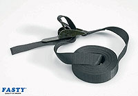 :Fasty OVER-CENTRE strap 500cm black 800kg strap (1 strap)