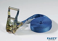 :FASTY Ratchet Turnbuckle 500cm blue 2000kg (1 strap bag) no. FS186