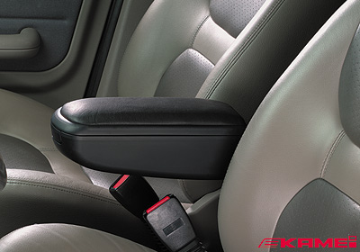 KAMEI Ford Mondeo CLX armrest, leather, black, 14192-11