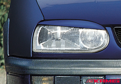 KAMEI VW Golf 3 (93 - 99) light trims (2), paintable, 44042