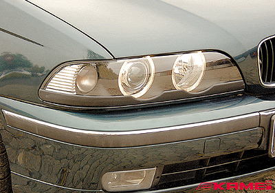 KAMEI BMW 5 (E39) light trims (2), paintable, 44094