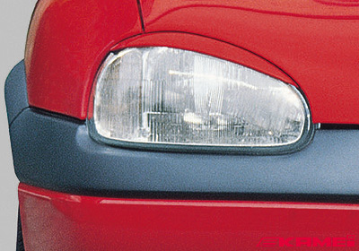 KAMEI Opel Corsa B (93 on) light trims (2), paintable, 44105