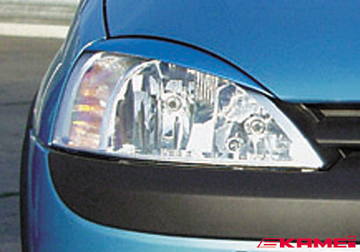 KAMEI Vauxhall Corsa C light trims (2), paintable, 44119