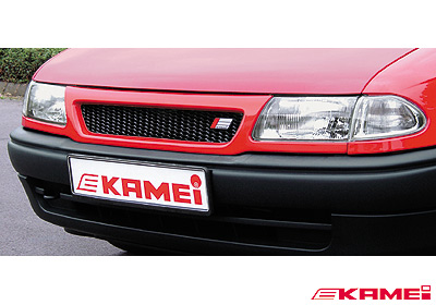 Kamei Vauxhall Astra F Sport Grille Paintable Black 44205
