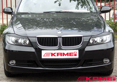 KAMEI BMW 3 (E90/E91) light trims - top (2), paintable, 44293