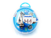 Ford C-Max (2003 to 2010) :Philips H4 VisionCare complete spare bulb kit no. LG031