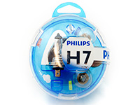 Vauxhall Vectra estate (1997 to 2003) :Philips H1/H7 VisionCare complete spare bulb kit no. LG033