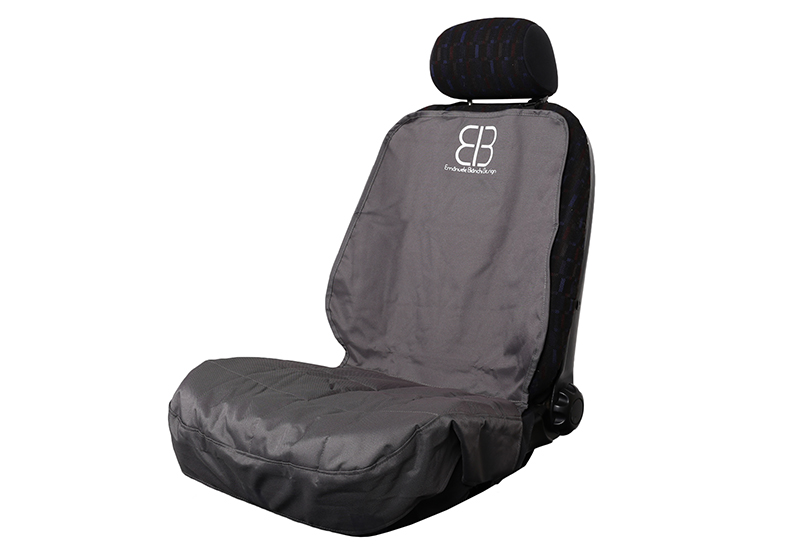 PetEgo EB front car seat protector cover, anthracite, EBF-AN