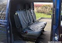 Ford Escort estate (1990 to 1995) :UK Covers waterproof seat covers, nylon - rear seats, grey, UKR03