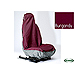 UK Covers waterproof seat covers, nylon - front pair, burgundy, UKF05