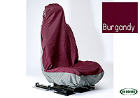 Peugeot 206 SW estate (2002 to 2007) :UK Covers waterproof seat covers, nylon - front pair, burgundy, UKF05