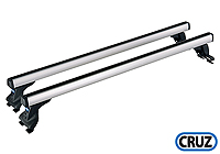 Citroen C5 five door (2001 to 2004) :CRUZ complete aluminium roof bar system (2) no. 925-055