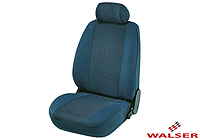 Ford Escort three door (1995 to 1999) :Walser jacquard seat covers, Cologne steel, 12682