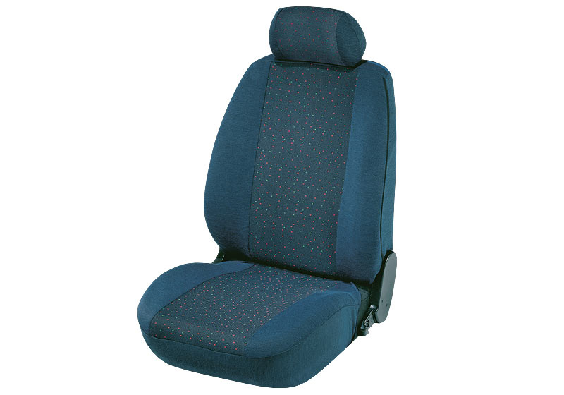 Toyota Land Cruiser Colorado five door (2000 to 2003):Walser jacquard seat covers, Cologne steel, 12682