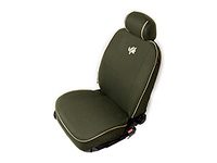 Lancia Delta five door (2008 onwards) :Walser velours seat covers, front seats only, Wilderness, 11226